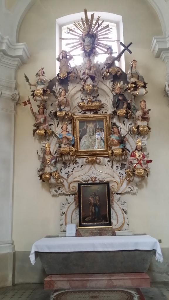 Oltář 14ti Božích pomocníků